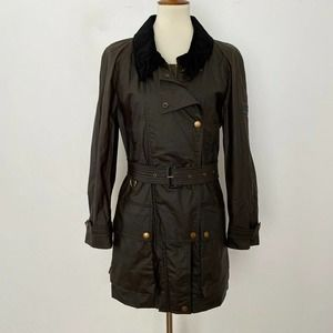 NEW Burberry Calverhall Waxed Cotton Jacket Size 8